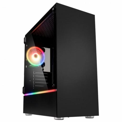 KOLINK BASTION RGB GAMING CASE - BLACK WINDOW