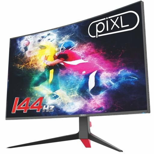 piXL 24 144Hz/ 165Hz Curved HDR G-Sync Compatible 5ms Frameless Gaming Monitor