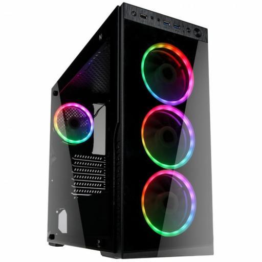 KOLINK HORIZON RGB GAMING CASE - BLACK TEMPERED GLASS