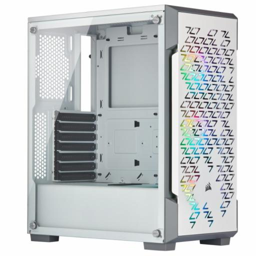 CORSAIR ICUE 220T AIRFLOW RGB - WHITE