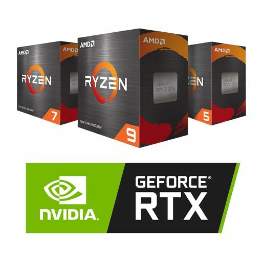 AMD RYZEN 5000 Series & Nvidia 30 Series Configurator